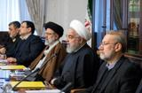 سران قوا در جلسه شورای عالی فضای مجازی+تصویر