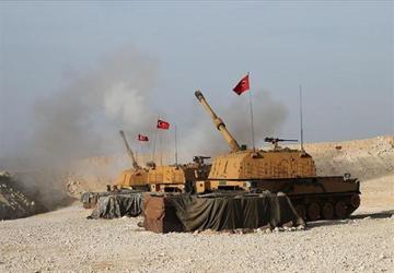 حمله هوایی ترکیه به برخی مراکز فرماندهی ارتش سوریه