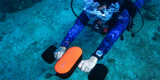 غواصی زیر آب با استفاده از اسکوتر سبک و ارزان قیمت