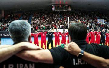 فرانسه خواستار بازی با تیم فوتسال ایران شد