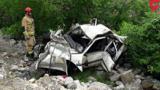 سقوط خودرو به دره ای وسط تهران/ همه سرنشینان جان باختند!