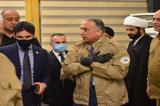 تصاویری  از بازدید مصطفی الکاظمی  از مقر حشد شعبی