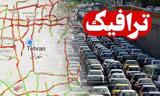 وضعیت ترافیکی جادههای کشور اعلام شد