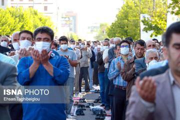 برگزاری نماز عید سعید فطر  با رعایت فاصلهگذاری اجتماعی
