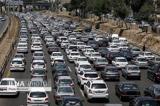 ورودی های شهر تهران شلوغ است