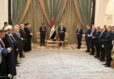 صالح و الکاظمی بر تسریع در تکمیل کابینه عراق تاکید کردند