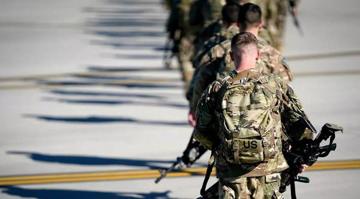 هزار و ۲۰۰ نیروی آمریکایی از عراق خارج شدند