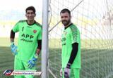 بازگشت علیرضا بیرانوند به تمرینات تیم فوتبال  پرسپولیس/تصاویر