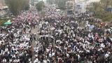 حامیان الکاظمی در بغداد به خیابان آمدند