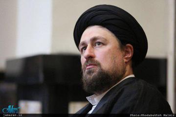 حجت الاسلام حسن خمینی به حجت الاسلام حسنخانی تسلیت گفت