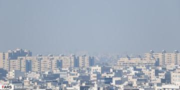 ازن باز هم هوای تهران را آلوده کرد
