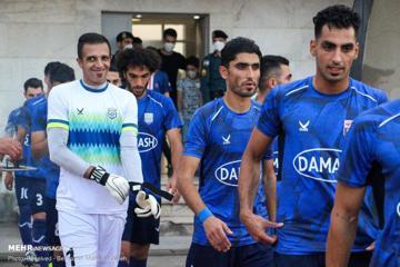 برتری سپیدرود  مقابل داماش  در دربی  گیلان در لیگ دسته یک/تصاویر