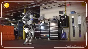 رونمایی از ربات ژیمناستیک کار